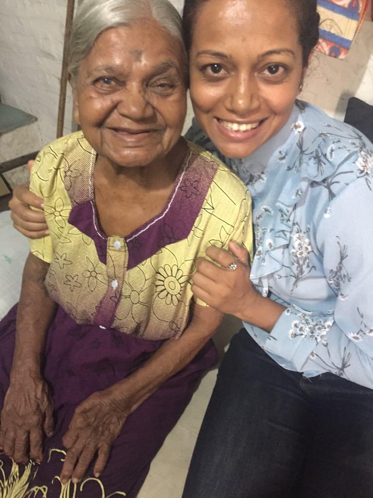 Mukta ajji and me